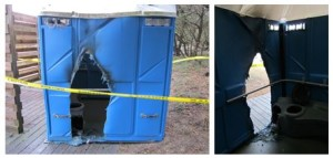 2.13.15 arson Park Service port a potty